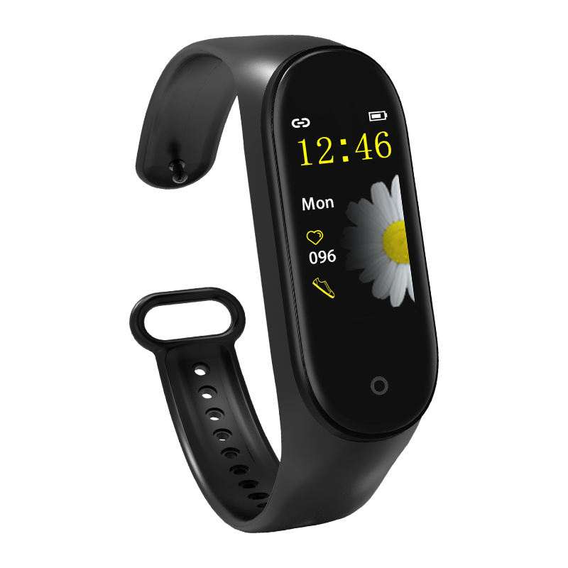 usa free shipping waterproof M4 smart watch ip68 BT 4.0 blood pressure heart rate fitness pedometer sports smart bracelet
