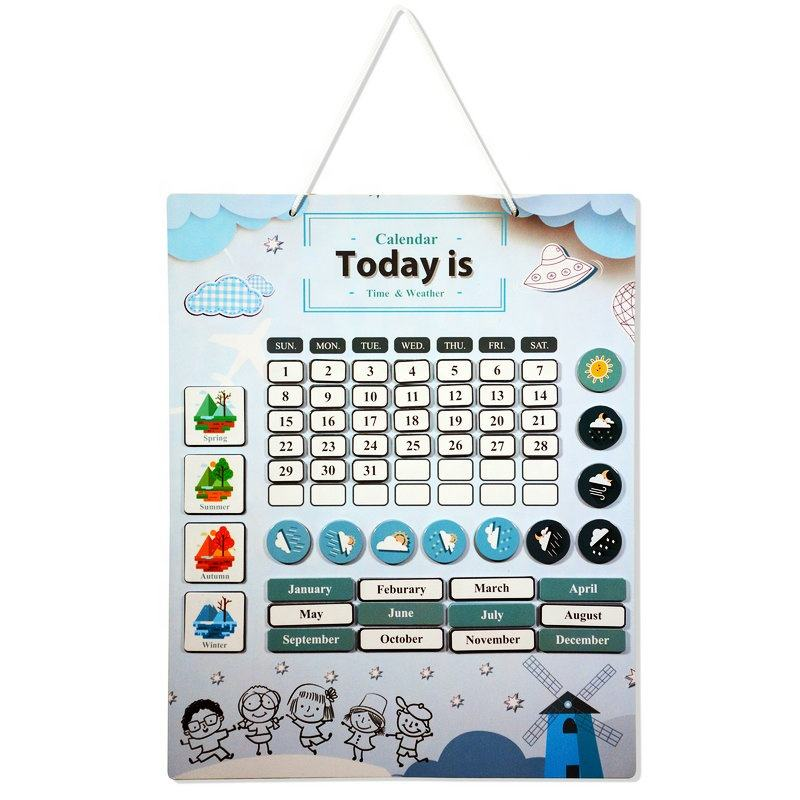 Education toy tell me about today kids magnetic learning board