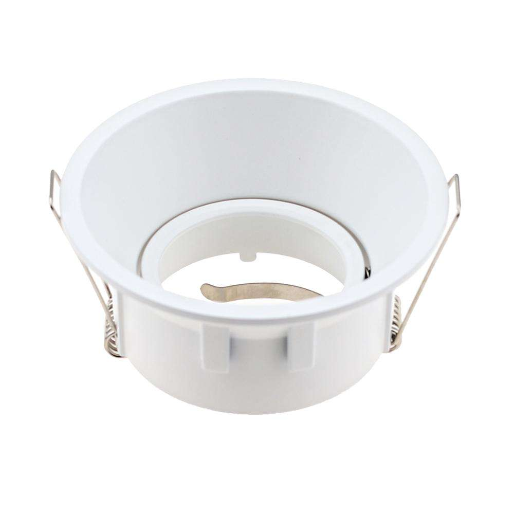 Round Ceiling Recessed Downlight Housing Mr16 Halogen Ceiling Lighting For Adjustable Light Fixture