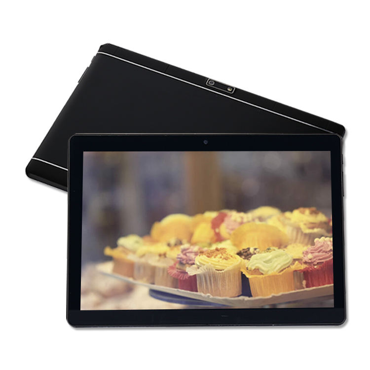 2020 Tablet MTK6580 black 10 Inch android 2 in 1 Port Tablet PC Laptop With Keyboard