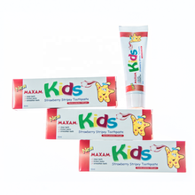 MAXAM Kids Strawberry Stripey Toothpaste 50ml children toothpaste HU