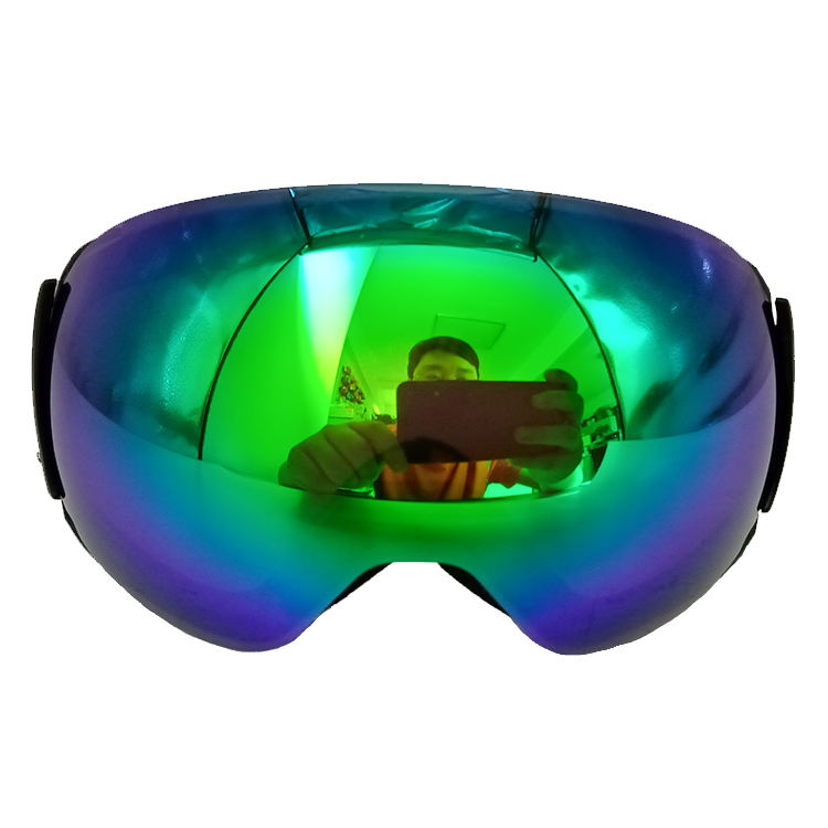 Custom ski goggles magnetic lens with clip lock