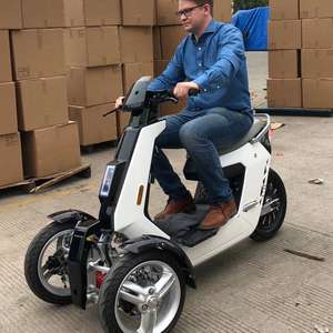 Itango Electric Passenger Tricycle Doohan Itank Style EEC 3 Wheel Electric Scooter Electric Motorcycle 3000w 3 wheel motorcycle