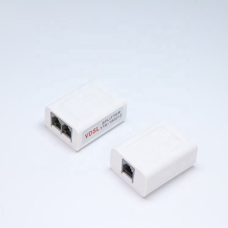 Factory Price VDSL/ADSL/DSL Splitter With Line For Telephone