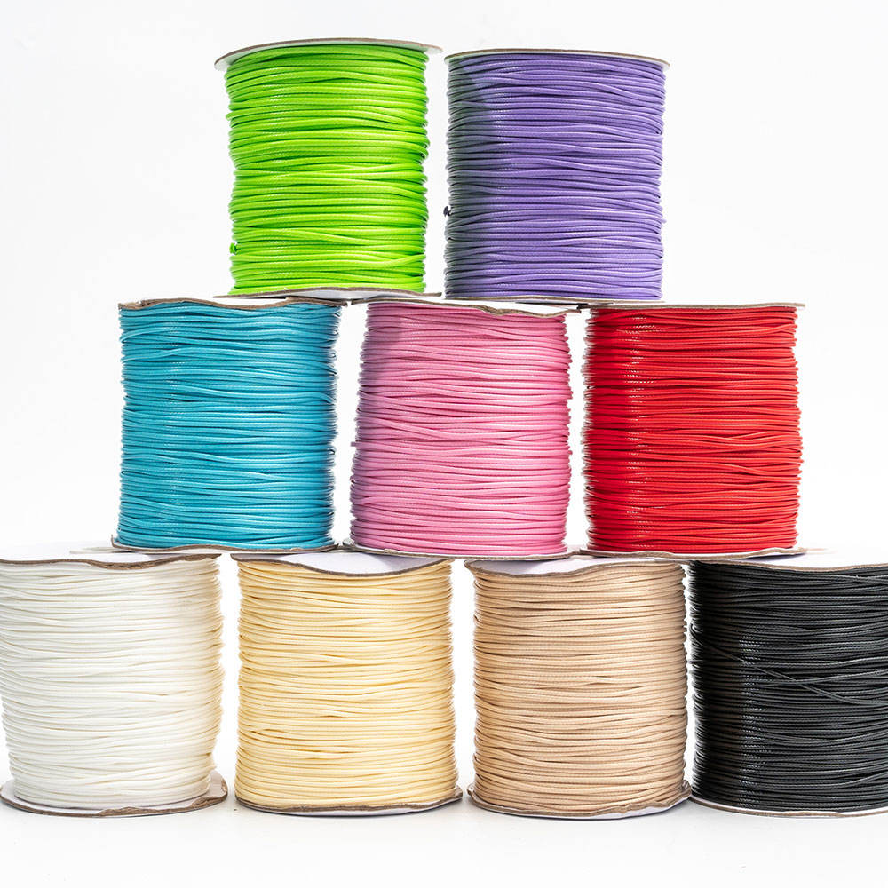 2mm 80meters/roll Ready Stock Wholesale Multi color Round Faux Suede Leather Beading String Rope Cord for Necklace Bracelet DIY