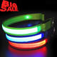 Promotional Colorful USB Rechargeable Flashing LED Dog Collar
