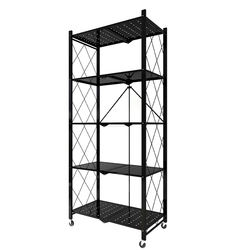 Multifunctional home&kitchen collapsible and movable storage holders foldable rack
