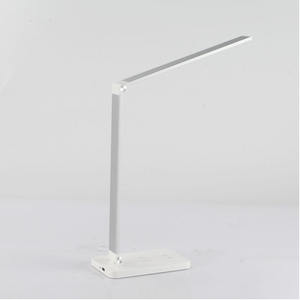 Eye production soft light no glare customized folding LED reading desk lights wireless charger study lamp study table lamp