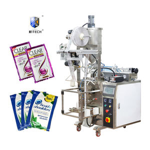 factory sale automatic pouch liquid filling and packing machine for sachet shampoo