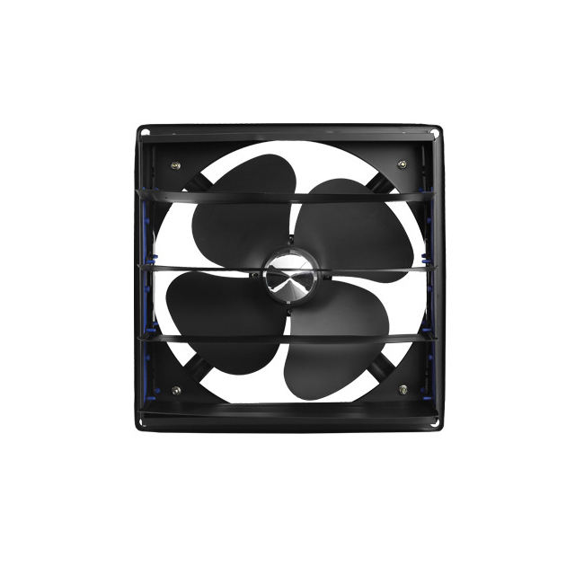 Fan high strength blade design, using the wind pressure to focus the flow through the concept, to provide a strong airflow