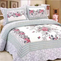 European style cotton luxury embroidery patchwork bedspread