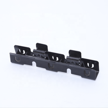 oem stamping bending parts powder coated U shaped powder coating steel hanging brackets