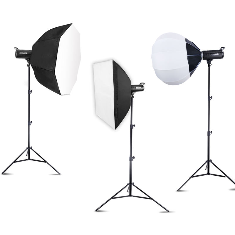 150W LED Studio Video Light Kit Bowen mount Photo 5500K with Softbox and Light Stand Photographic lighting Equipment
