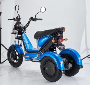 EEC certificate COC road 3 wheel 72v electric motorcycle for adults electric scooters