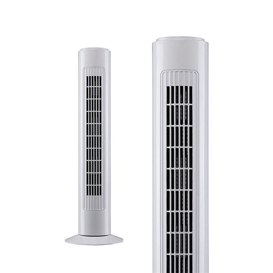 Best Selling New Design Modern Ac Motor Home Air Cooling Electric Bladeless Tower Fan With Remote