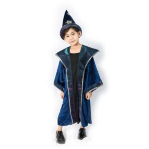 Magic Star Moon Gewaad Kind Wizard Heks Kostuum Cosplay