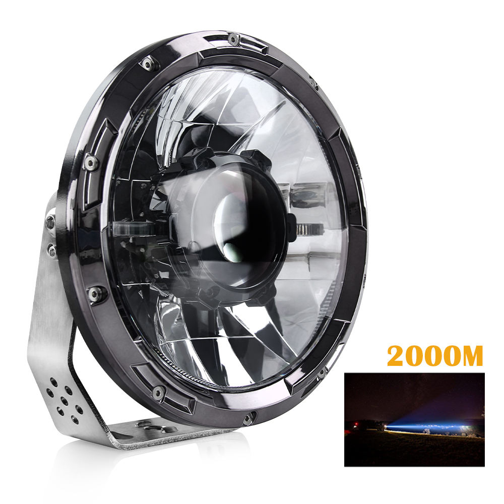 2020 auto lighting system 6500k lux@2000m 45w 7 inch laser led work light truck car off road