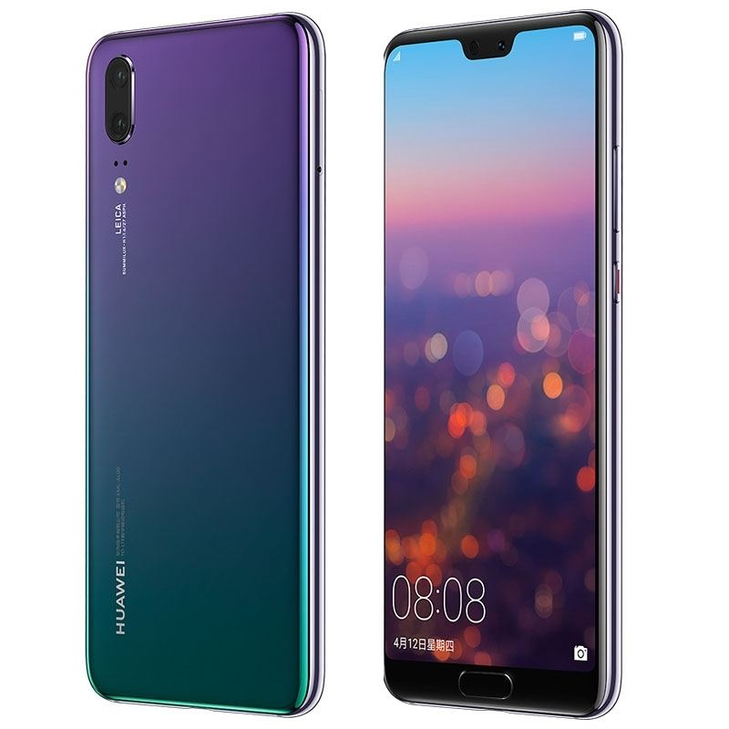 Free Sameple 5.8 inch Huawei P20 EML-AL00, 6GB+64GB China Version Same Day Shipping Phone