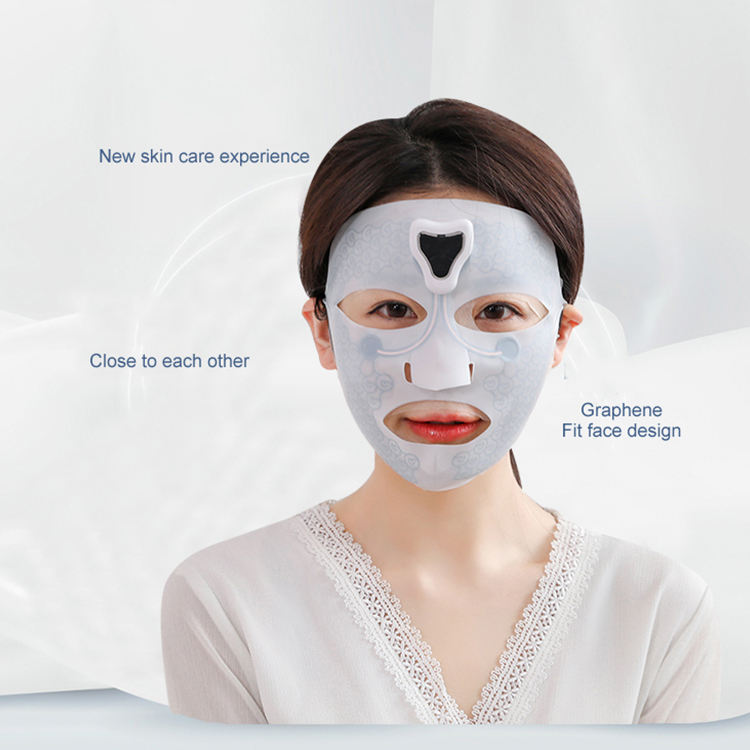Anti wrinkle facial SPA instrument treatment skin care silicone face massage mask