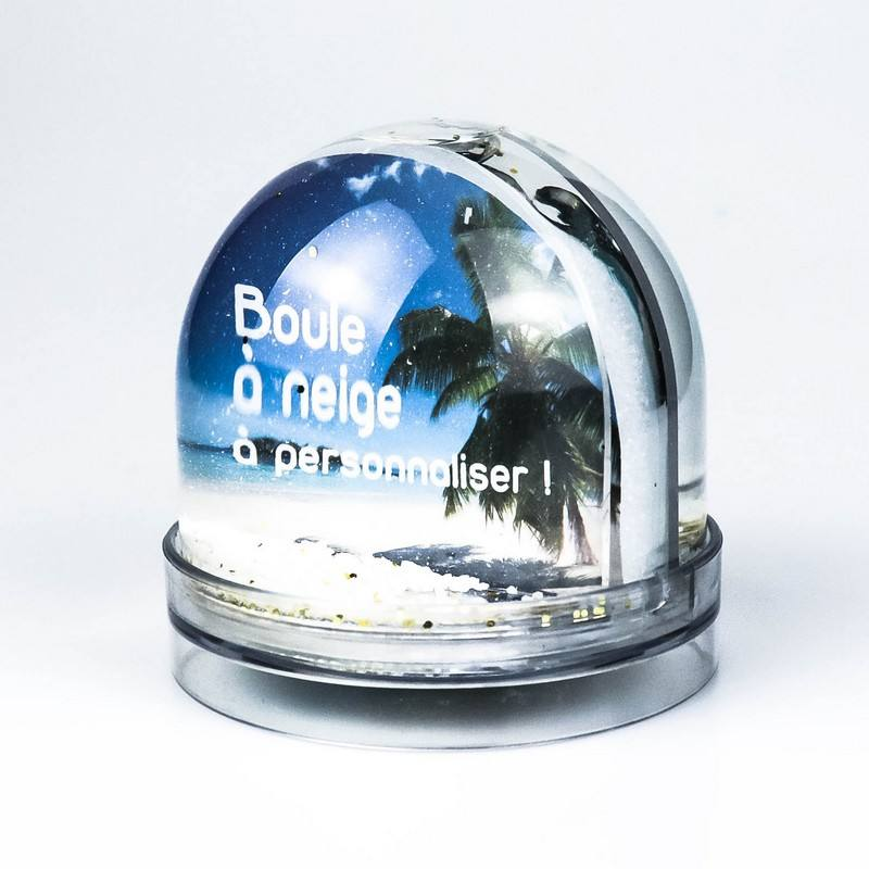 manufacture empty christmas photo snow globe