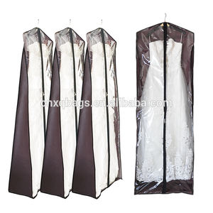 eco-friendly customized Large Bridal Wedding long dress gown cover garment bag