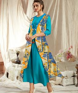 rayoun kurti for ladies A-line style kurti with high quality and low price