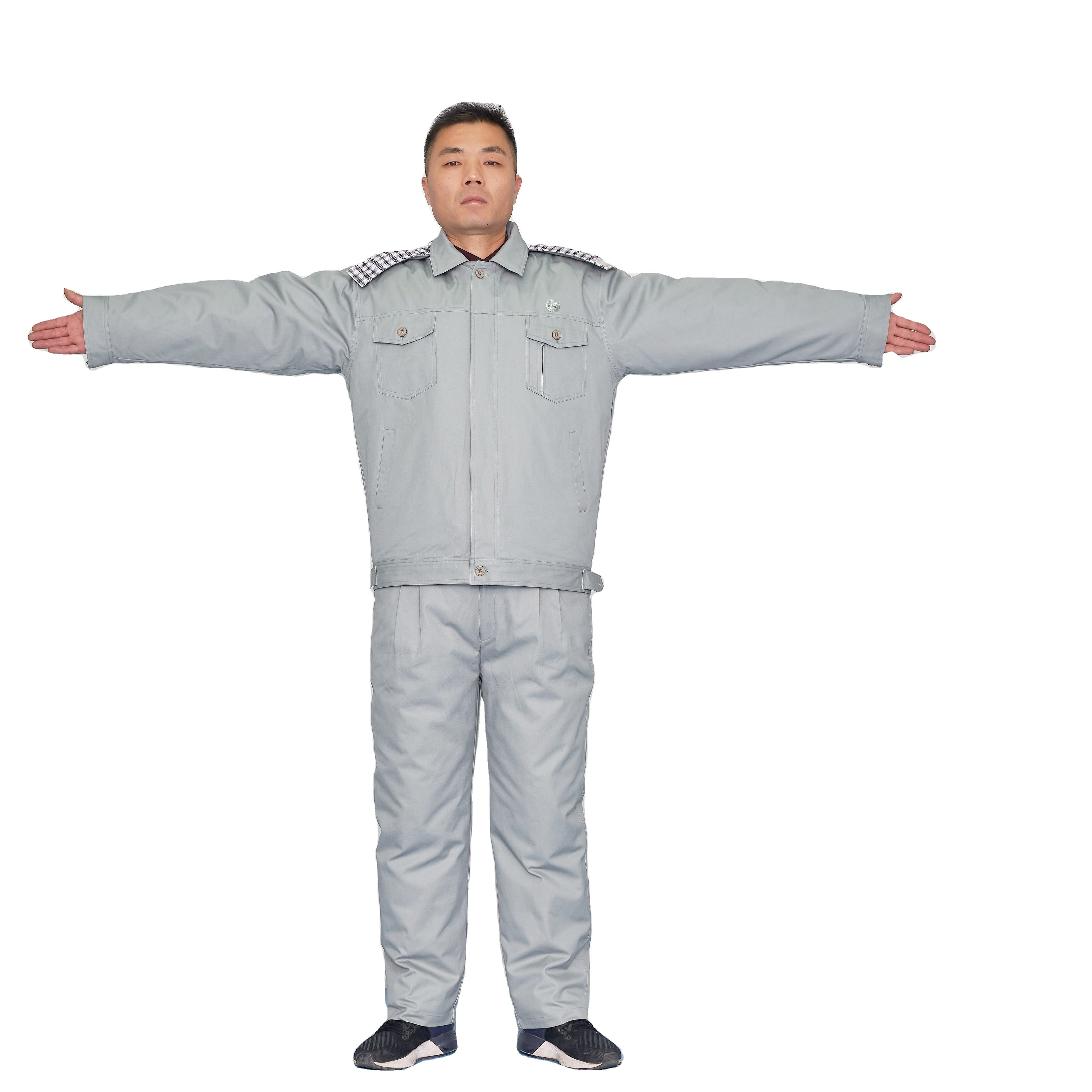 Warm Winter Coverall Suits Manufacturers Selling Clothes Removable Type Work Clothes Support For Custom Workwear