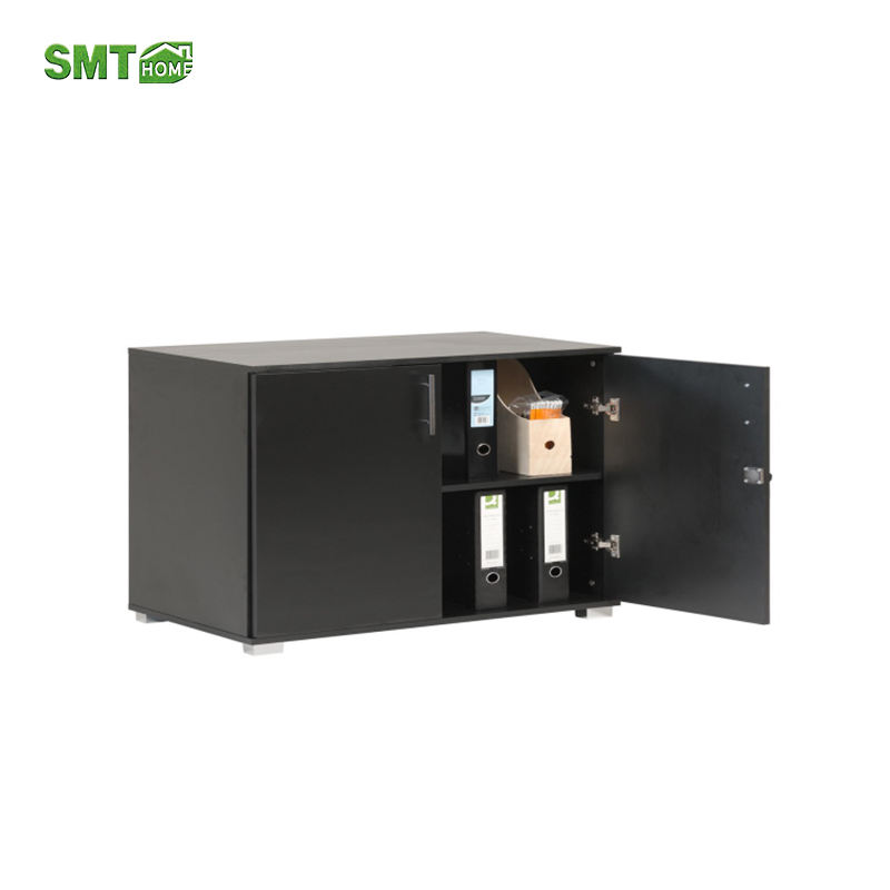 Hot Selling Individuanl Black Modern Furniture Wooden Sideboard Cabinet