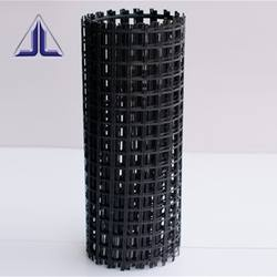 high strength fiberglass geogrids for asphalt cement pavement EGA25-25