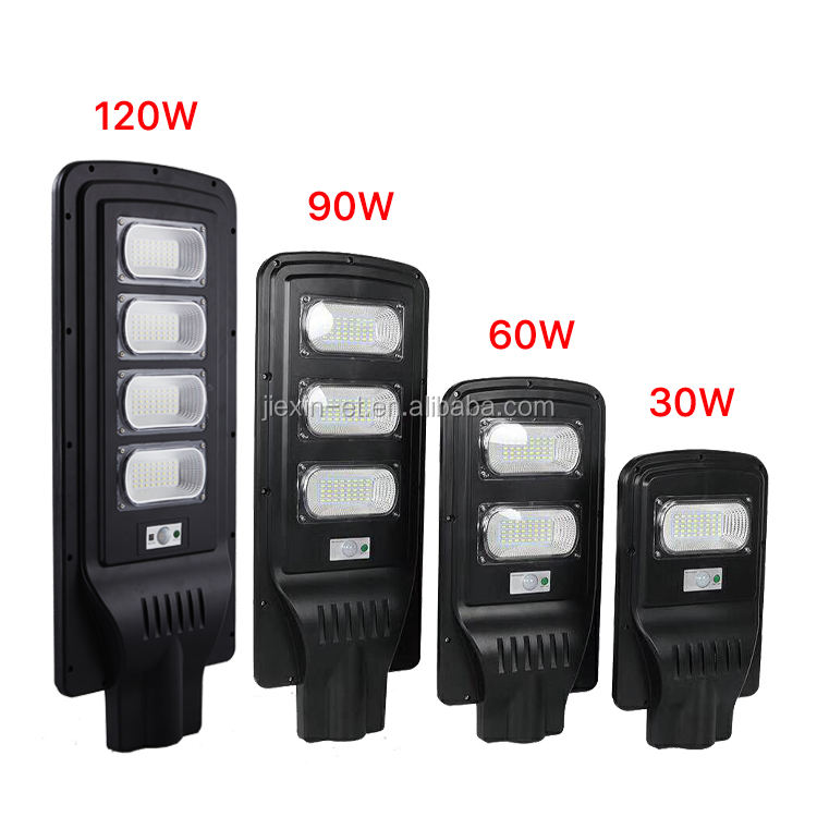 High brightness and long working time Solar power street light 30w 60w 90w 120w solar street light led outdoor
