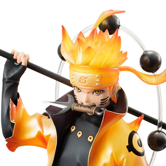 NARUTO Cartoon Figures model Uzumaki Naruto Rikudousennin Modo Character model