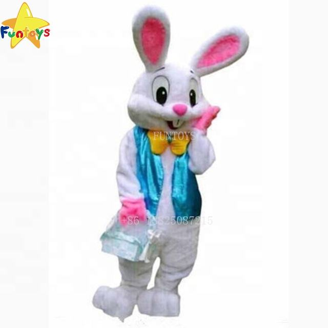 Funtoys cosplay torte <span class=keywords><strong>professionale</strong></span> bunny costume <span class=keywords><strong>della</strong></span> <span class=keywords><strong>mascotte</strong></span> del coniglio lepre di pasqua <span class=keywords><strong>mascotte</strong></span> di halloween traje per adulti