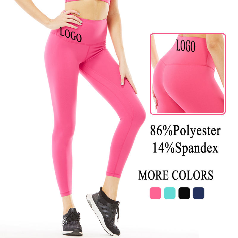 Hot Sell High Waist Tight Tummy Control Sports Pants Breathable Running Fitness Gym Yoga Leggins