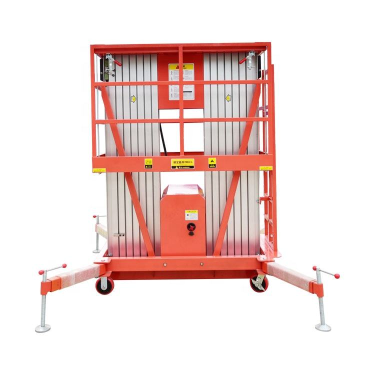 Manufacturers make all kinds of fully automated elevators loading and unloading cargo platform elevators