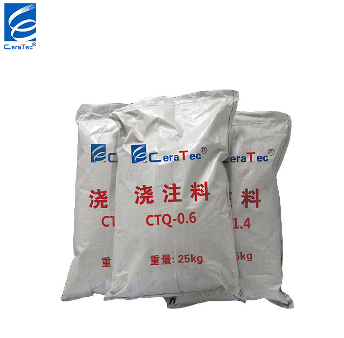 1300 high alumina Low Cement Castable refractory