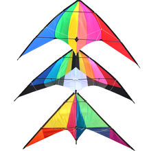 Yongjian 2020 Dual Line Easy flying Custom Printed outdoor playing  training leaf kite albatross stunt kite From Weifang