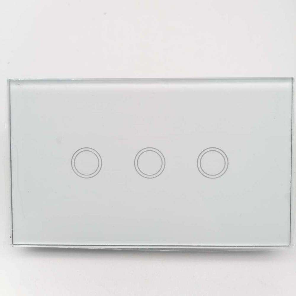 Zigbee Australia 3 Gang Wireless Frequency For Smart Home Wall Switch