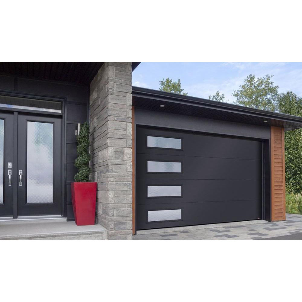 Electric Energy-efficient Windproof Upward Sliding Steel Garage Doors