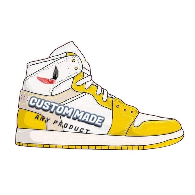 Fashion sneakers retro custom Chicago jordan 1 brand shoes OG basketball shoes OEM