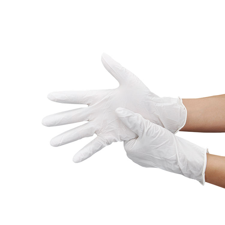 Disposable Waterproof Industry Sterile Household Rubber Powder Free Glove Medical Touch Screen Safety Nitrile Work Gloves
