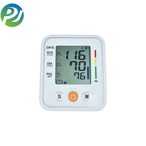 Digital Blood Pressure Monitor Upper Arm with Pulse Rate Indicator Accurate Automatic BP Machine with Large Cuff