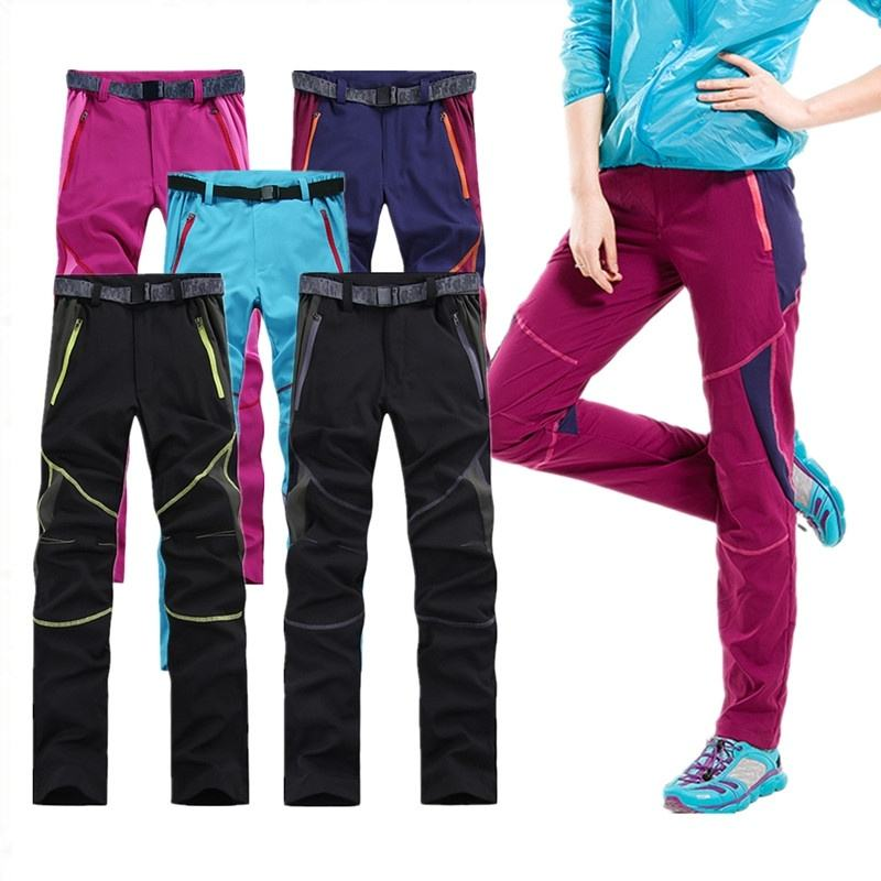 Quick Dry Camping Hiking Pants Hunting Outdoor Sports Breathable Pants Women