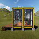 china latest modern flat pack prefab 2 bedroom shipping luxury container homes for sale USA ready made house in india