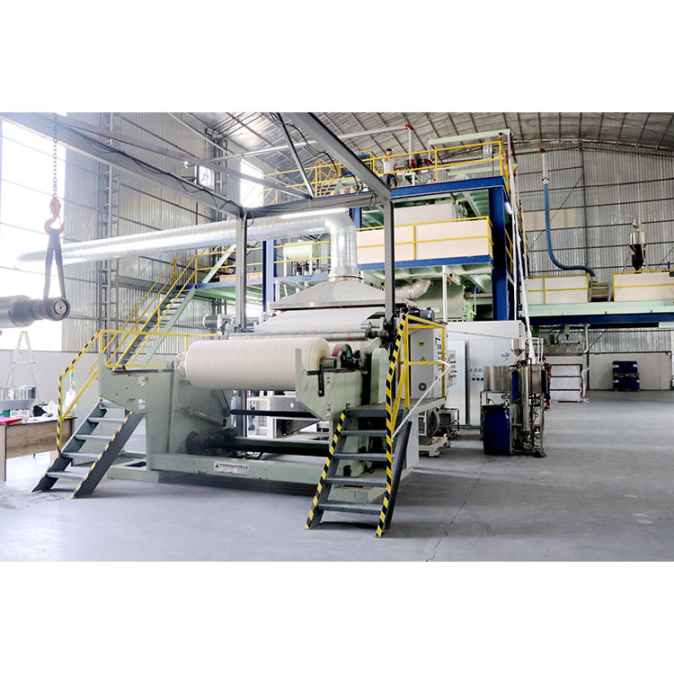 Nonwoven meltblown machine roll cutting spunbonded sms composite non-woven fabric production line