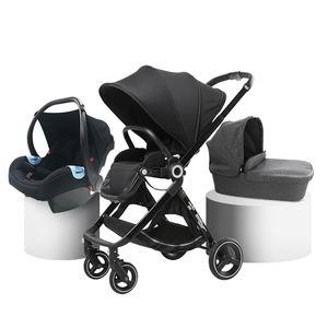 Luxury strollers de bebe transformation travel stroller trolly for baby