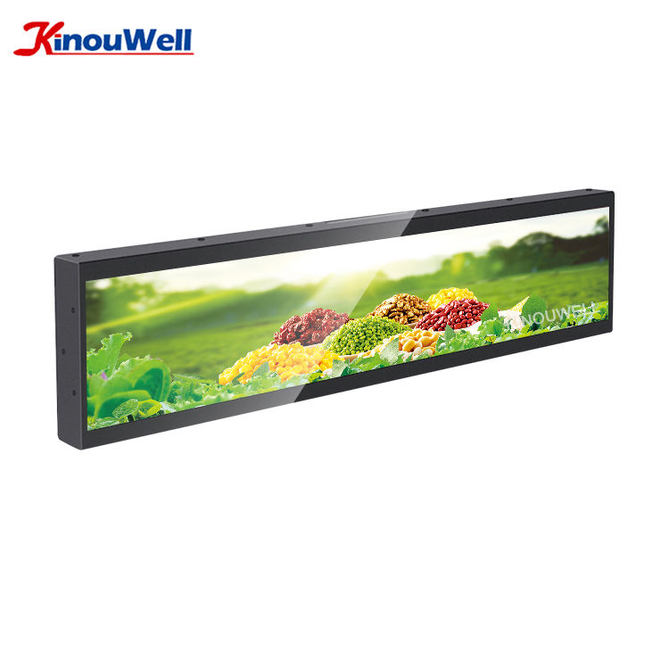 28 28.5 35 36 37.1 37.7 38.5 40.6 49 Inch Ultra Wide Touch Screen Android Stretching Bar Lcd Monitor For Advertisement