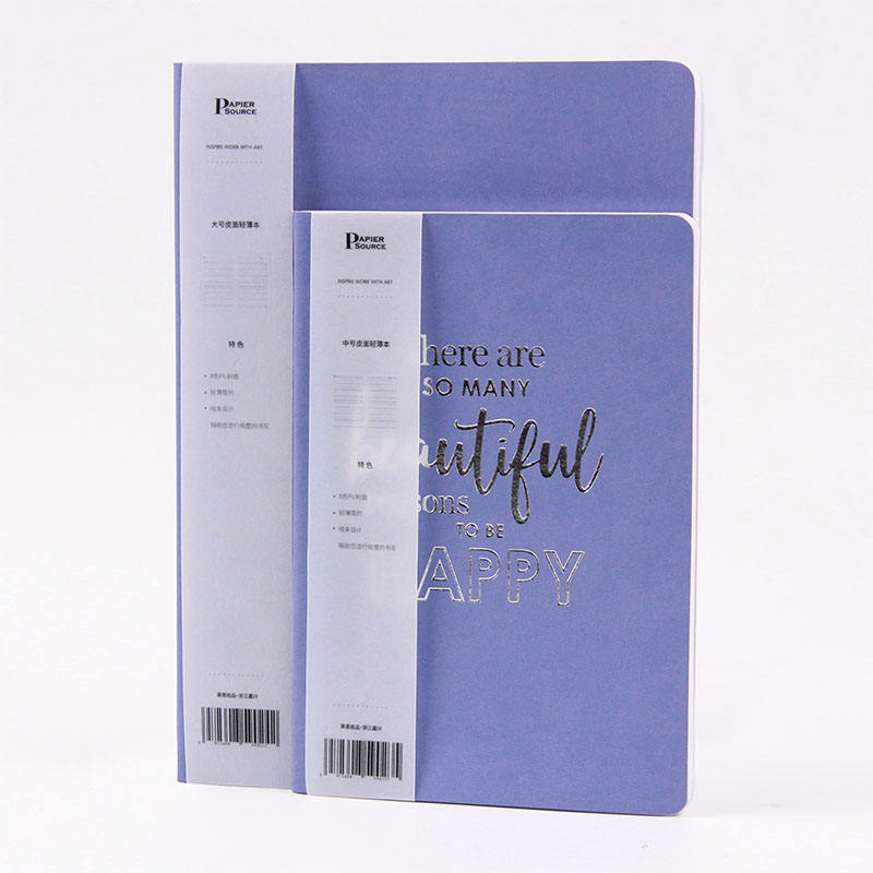 Notebook Kulit A5, Notebook Foil Softcover Kulit PU untuk <span class=keywords><strong>Siswa</strong></span> Bisnis B5 Kustom
