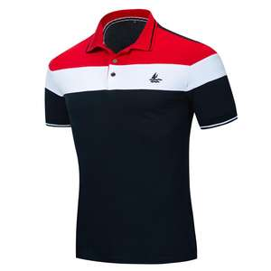 Custom Print Polo T Shirt Summer Men Uniform Polo Shirts