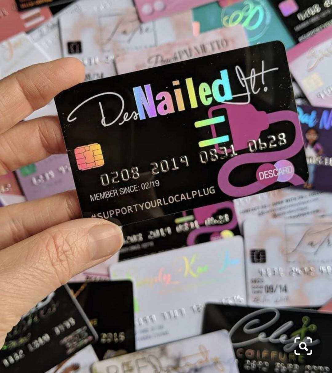 Wholesale cheap customized Lashes logo visa credit card size pink pvc membership card holographic eyelashes business card