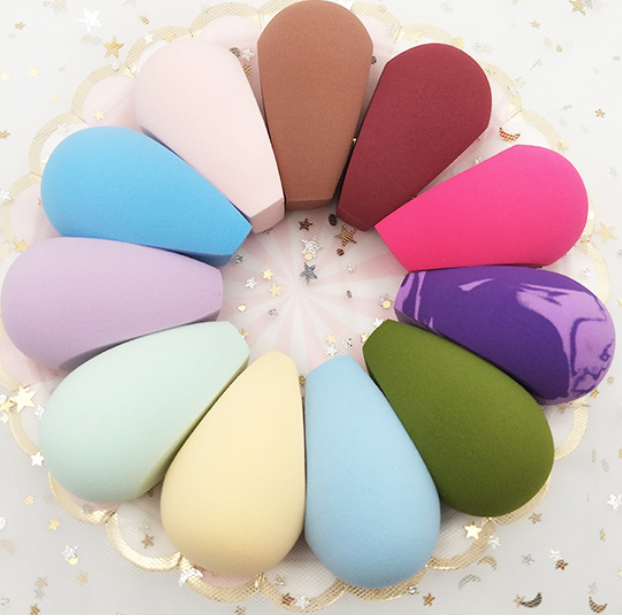 Eco Friendly Vegan Off White Cosmetic Beauty Makeup Sponge Product Name and Sponge Material beauty sponge